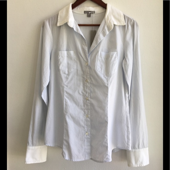 James Perse Tops - NWT James Perse Collared Shirt